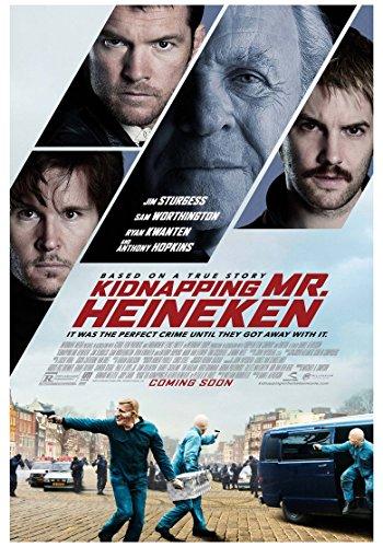 Kidnapping Mr Heineken Movie Poster 70 X 45 cm