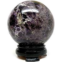 Healing Crystals India Amethyst Ball Mosaic Dark Purple Crystal Healing Sphere 1pc 50-60mm Aura Balancing Metaphysical... preisvergleich bei billige-tabletten.eu