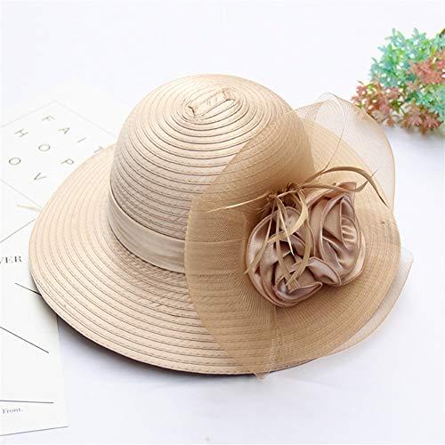 XinQuan Wang 2019 Verano Nuevo Sombrero de Flores Americanas Gorro Protector Solar UV ollas niños Gorra...