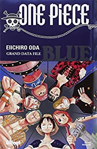 One Piece GuideBook Edition simple Blue : Grand Data File
