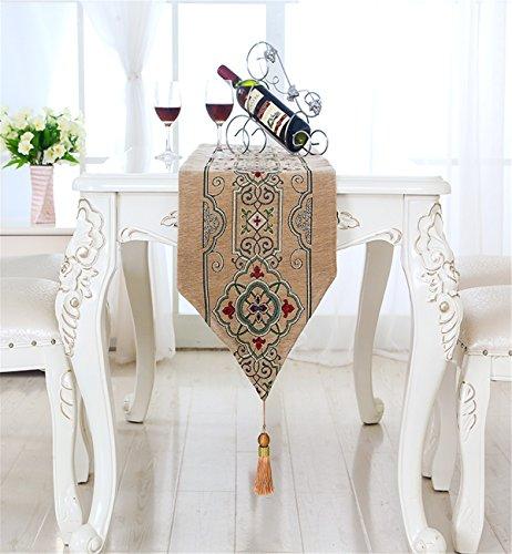Sucastle 33x215cm Tuch Tischläufer Hochzeit Tischband ,abwaschbar (Farbe...