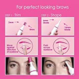 Technuv Sweet Sensitive Touch Eyebrows Underarms Electric Trimmer For Women