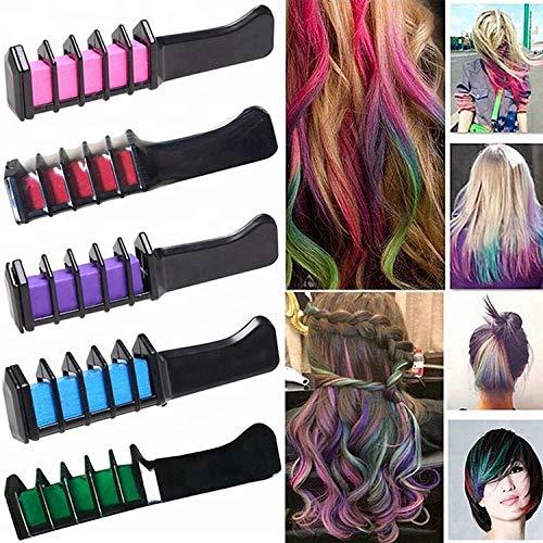 Gessetti per capelli 6 colori