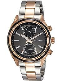 Titan Neo Analog Silver Dial Men's Watch-1733KM03