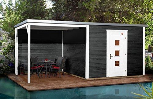 weka Designhaus wekaLine 413 B Gr.2, anthrazit, 45 mm, ET, Anbau 300 cm