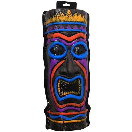 PARTY DISCOUNT NEU Wand-Deko Tiki Totem Maske, ca. 55cm