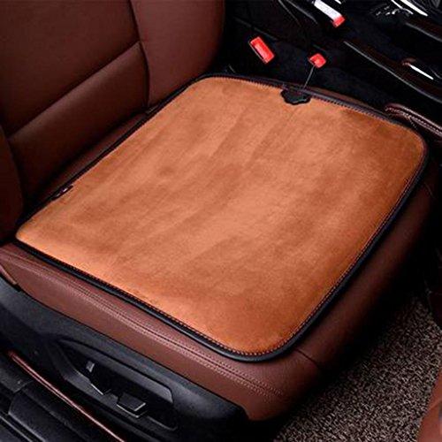 Auto Heizdecken Elektro-Thermisch Kissen 12V Zigarettenanzünder Heizung Sitzkissen , brown