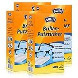 4x Swirl Brillen Putztücher 50 stk. Tücher
