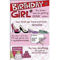 Tarjeta de cumpleaños con frases para acompañar a tus regalos.