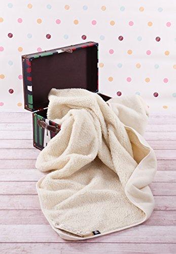 Merino Wool Bedding Sale!!! Kinderbett-Decke aus 100% Wolle, 140 x 100 cm