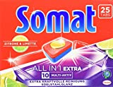 Somat Tabs 10 All in 1 Extra Zitrone & Limette, 8er Pack (8 x 450 g)