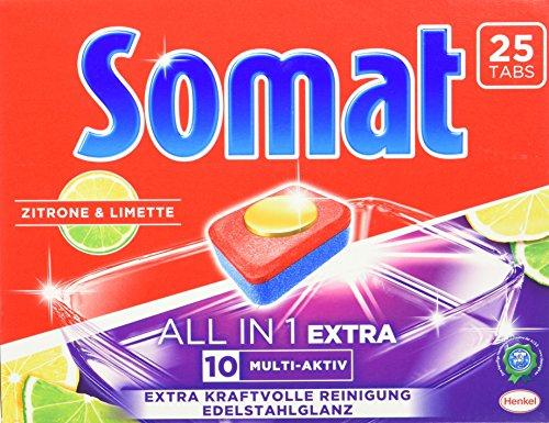 Somat Tabs 10 All in 1 Extra Zitrone & Limette, 8er Pack (8 x 450 g)