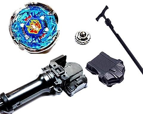 Kampfkreisel StarterSet Mega Metal Fusion für Beyblade Masters 4D (Storm Pegasus)