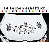 Auto Tattoo Aufkleber - 2x Engel - je 15cm x 12cm: Amazon