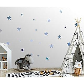 25 Sterne Wandtattoo Fürs Kinderzimmer   Wandsticker Set U2013 Pastell Farben,  Baby Sternenhimmel Zum Kleben