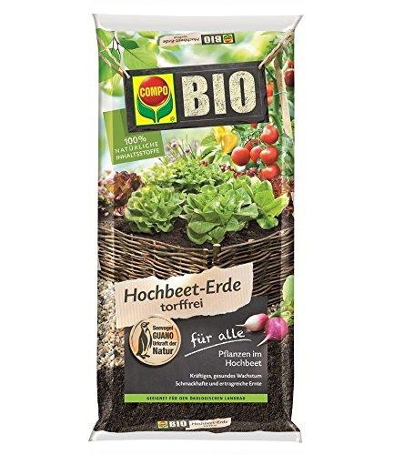 COMPO SANA BIO Hochbeet-Erde torffrei 20 Liter