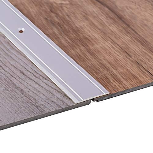 Gedotec Übergangsprofil Aluminium Boden-Leiste Küche Übergangs-Schiene zum Schrauben | 200 cm |...
