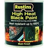 Hohe Rustins 600 Black Paint 500ml