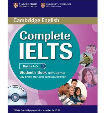 Complete IELTS Bands 4-5 Student's Book with Answers with CD-ROM (Complete) (Mixed media product) - Common