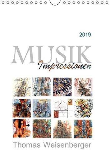 MUSIK Impressionen (Wandkalender 2019 DIN A4 hoch): Bilder über musikalische Themen (Monatskalender, 14 Seiten ) (CALVENDO Kunst)