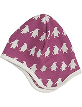 pigeon-organics for Kids Mütze Penguin Raspberry 6–12m