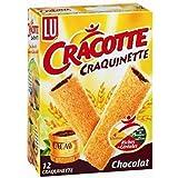 Cracotte 12 craquinettes chocolat 200g Envoi Rapide Et Soignée ( Prix Par Unité )
