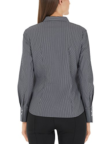 Marc Cain Additions Damen Bluse Mehrfarbig (Black And White 910)
