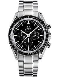 Omega 3570.5 - Reloj para hombres, correa de acero inoxidable color gris