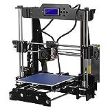 3D Drucker A8(Y8) Desktop DIY 3D-Drucker Selbstmontage Prusa i3 Kit High Precision 3D Printer mit LCD Bildschirm 3d- drucker bausatz,Tigtak(Plattformgröße 220 * 220 * 240)