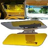 #3: Insasta HD Day Night Vision Flip Down Visor Easy Sun glare Block View Comfort Driving