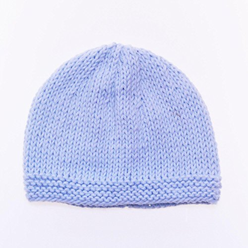 Bonnet de Naissance Bébé 100% Coton Fait Main   - 0 - 3 mois   d04d2c921f2
