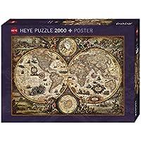Heye VD-29666 Puzzle Vintage World Zigic, 2000 Pezzi, 97 x 69 cm
