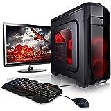 """Megaport Komplett-PC 8-Kern AMD FX-8300 • GeForce GTX1050Ti • 22"""" Monitor+Tastatur+Maus • 16GB • 1TB • Windows 10 Gaming PC, Gamer PC, PC Komplettsystem, Komplett Set, PC Komplettpaket, Computer"""