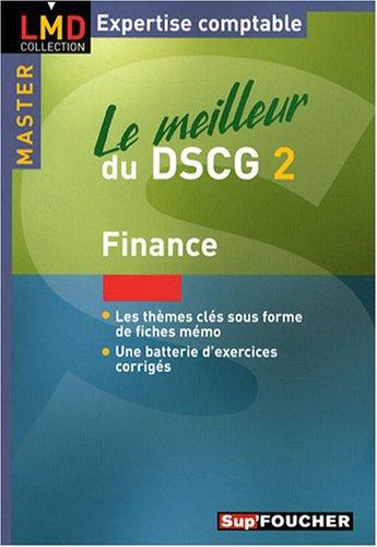 Le meilleur du DSCG 2 : Finance