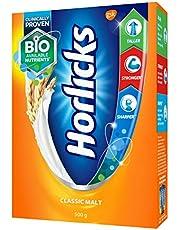 Horlicks Health and Nutrition drink - 500 g Refill pack (Classic Malt)