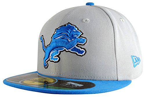 New Era 59fifty Nfl On Field Detroit Lions Cap - White/blue