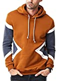 #4: Seven Rocks Rich Cotton Men's Panelled Hoodie Sweatshirt Jacket