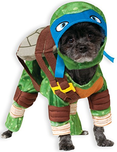 (Rubie 's Offizielles Haustier-Hunde-Kostüm, Leonardo, Teenage Mutant Ninja Turtles – X-Large)