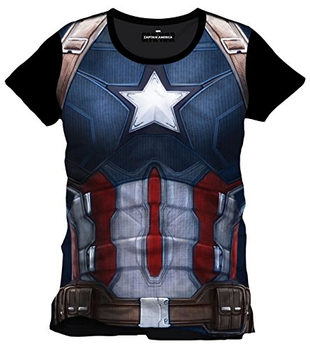 cappello-berretto-maglietta-captain-america-civil-war-t-shirt-cap-chest-size-xl-codi