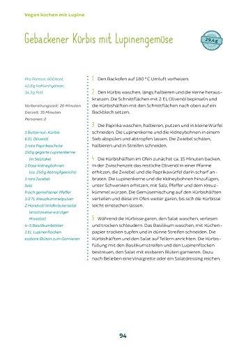 Vegan kochen mit Lupine: Über 55 eiweißreiche und sojafreie Rezepte - 4