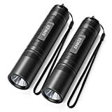 Anker LC40 2-Pack LED Taschenlampe, Superhell 400 Lumen Cree LED, IP65 Wasserfest, 3 Einstellungen Hell / Niedrig / Blinkfunktion für Campen, Wandern, Fahrradfahren und Notfälle