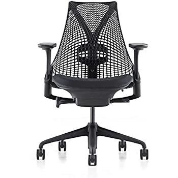 sayl office chair. herman miller sayl chair in black office i