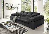 BIG Sofa- Schwarz - Modell Hercules