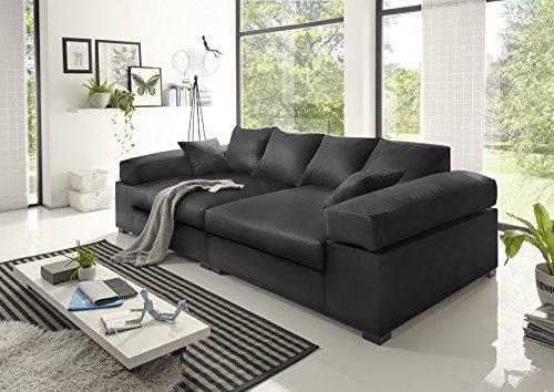 BIG Sofa- Schwarz – Modell Hercules