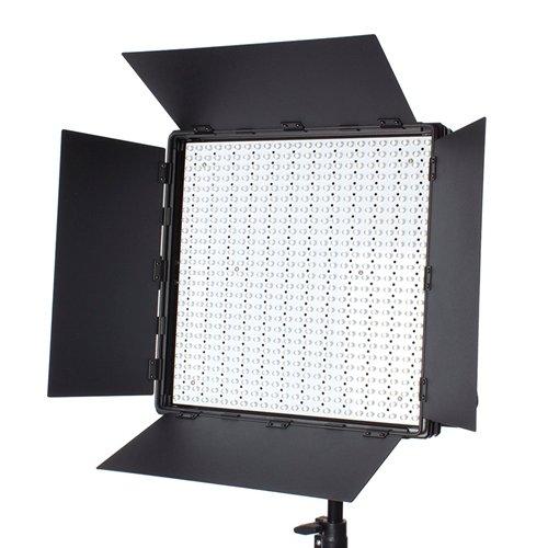 Fovitec LED Barndoor Light Modifier für StudioPRO S-600D oder S-600B LED Panels (LED Panels sind separat erhältlich) 1 Barndoor Kit