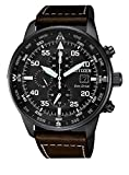 Citizen, Chronograph watch for men, from the Aviator Chrono collection CA0695 - 17E