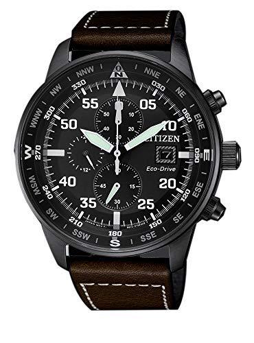 Citizen, Reloj con cronógrafo para hombre, de la colección Aviator Chrono...