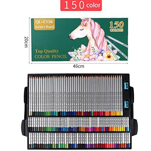 Umweltfreundlicher Buntstifte Set (150er Pack) -150 Brillanten Farben Bleistift Set(erhöhte Bruchfestigkeit) -Hochwertige Kunst-Buntstifte Für Kinder Und Erwachsene, Künstler Und Skizzenzeichner