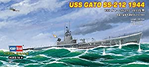Hobby Boss 87013 Plastic Model Kit Scale 1:700 - USS SS-212 Gato 1944
