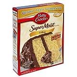 Betty Crocker Super Feucht Gelbe Kuchen Mischung: 516g